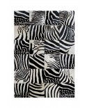 PATCHWORK CARPET: ZEBRA 20x20