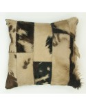 CUSHION NORMAND DYED BEIG DOUBLE FACE