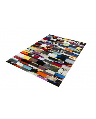 ALFOMBRAS PATCHWORK MULTI RAYAS