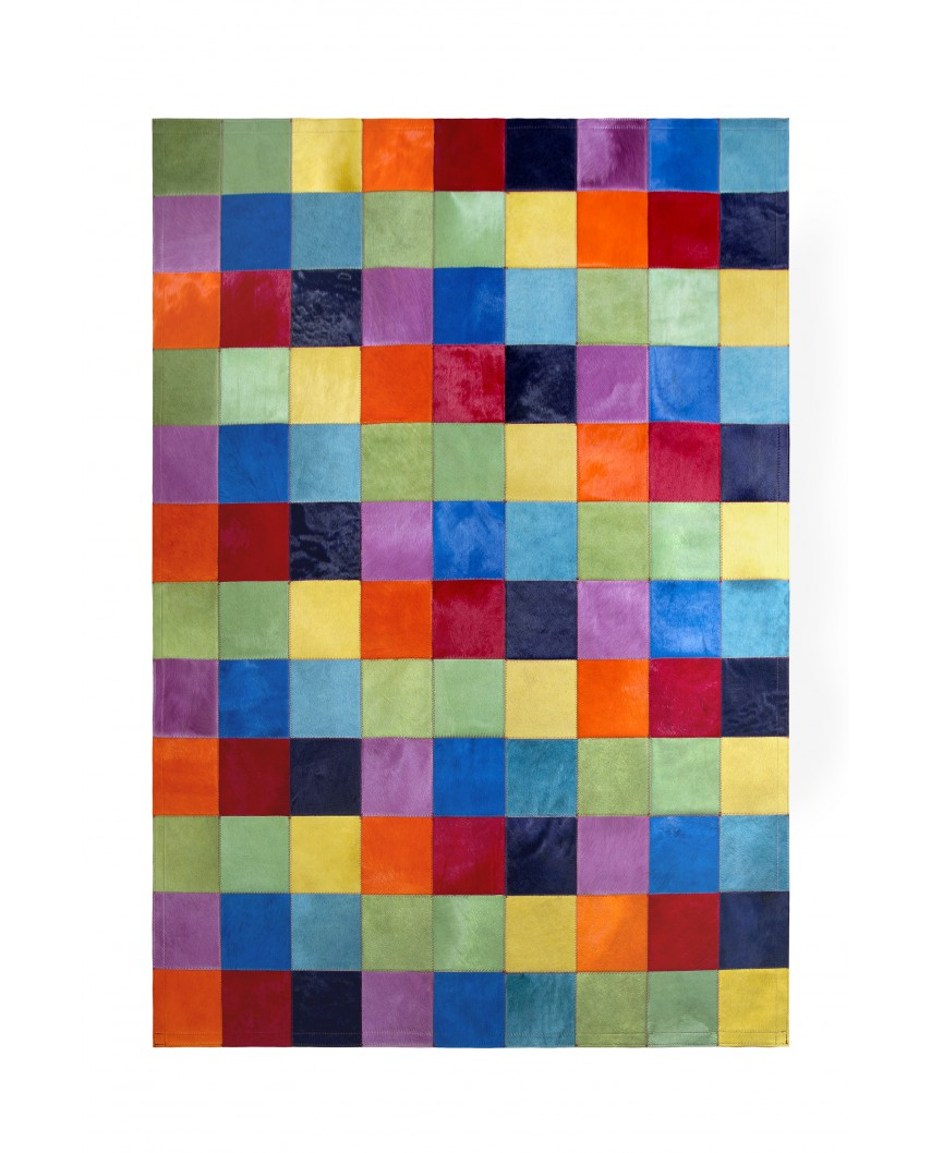 Alfombras patchwork colores lisos 20x20 for Alfombra colores