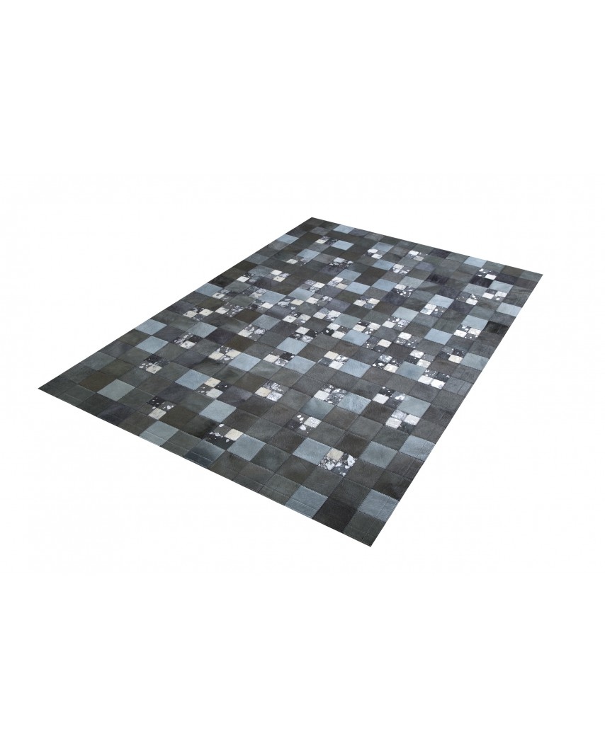 e230a05b118 PATCHWORK CARPET  GRAY AND ACID SILVER 10X10 AND 5X5