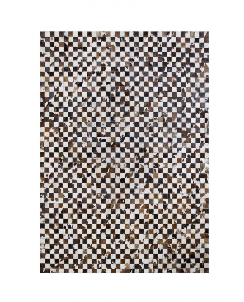 PATCHWORK CARPET: NORMAND COW 5x5